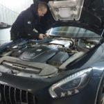 Mercedes Mercedes-AMG GT ремонт стеклоочистителя