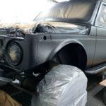 Покраска машины нива LADA 4х4 Raptor в СПб