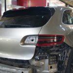 Кузовной ремонт машины Porsche Macan