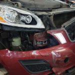 Ремонт покраска бампера Volvo